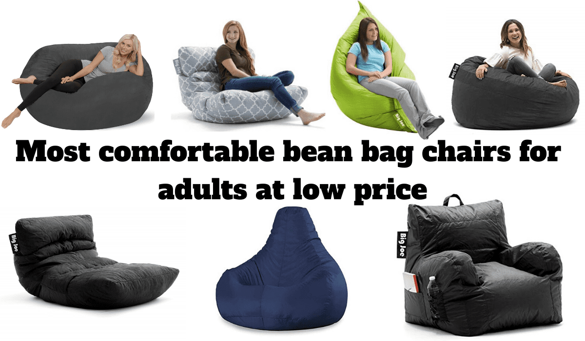 Best Bean Bag Chairs For Adults At Low Price Most Comfortable